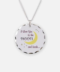 Love you to the moon & back! Necklace