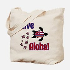 Live Aloha! Hawaii Tote Bag