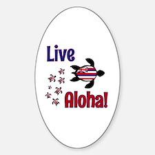 Live Aloha! Hawaii Decal