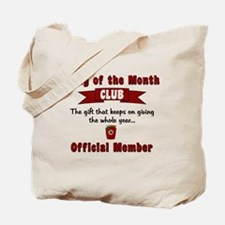 Christmas Jelly of the Month Club Tote Bag