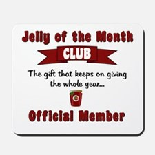 Christmas Jelly of the Month Club Mousepad