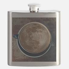 Unique Latte art Flask