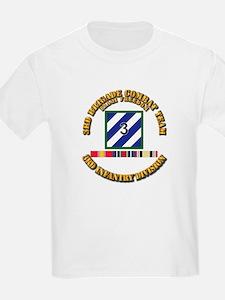 3rd BCT, 3rd ID - OIF w Svc Rib T-Shirt