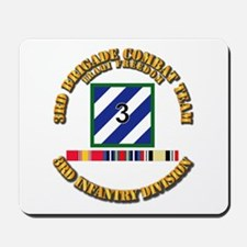 3rd BCT, 3rd ID - OIF w Svc Ribbons Mousepad