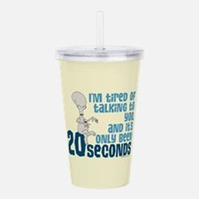 American Dad 20 Second Acrylic Double-wall Tumbler