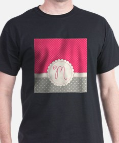 Cute Monogram Letter M T-Shirt