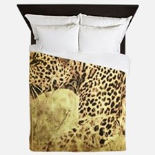Unique Cats father Queen Duvet