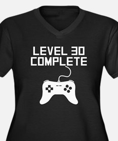 Level 30 Complete 30th Birthday Plus Size T-Shirt