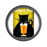 Black Cat Brewing Co. Wall Clock