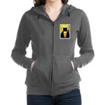 Black Cat Brewing Co. Women's Zip Hoodie