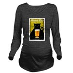 Black Cat Brewing Co. Long Sleeve Maternity T-Shir