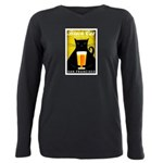Black Cat Brewing Co. Plus Size Long Sleeve Tee