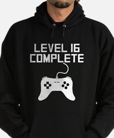 Level 16 Complete 16th Birthday Hoodie