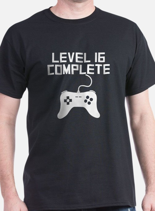 Level 16 Complete 16th Birthday T-Shirt