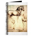 Leonardo da Vinci Study of Horses Journal