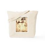 Leonardo da Vinci Study of Horses Tote Bag