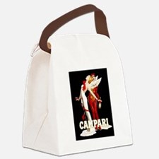 Cute Beverages Canvas Lunch Bag