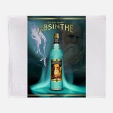 Cute Absinthe Throw Blanket