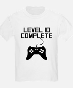Level 10 Complete 10th Birthday T-Shirt