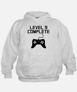Level 9 Complete 9th Birthday Hoodie