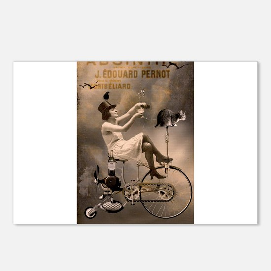 Absinthe Liquor Postcards (Package of 8)