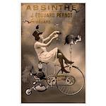 Absinthe Liquor Poster