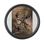 Absinthe Liquor Large Wall Clock