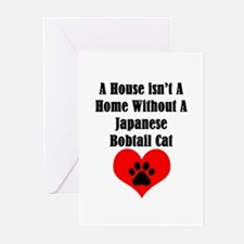 A House Isn't A Home Without A Japa Greeting Cards