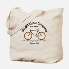 Wright Bicycle Company Tote Bag