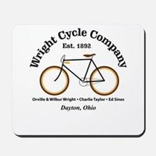 Wright Bicycle Company Mousepad
