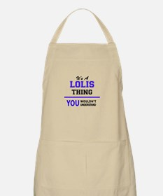 It's LOLIS thing, you wouldn't understand Apron