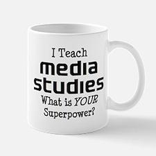 media studies Mug