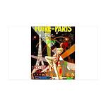 Foire De Paris Vintage Travel Poster Decal Wall St