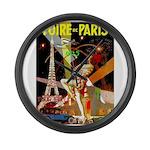 Foire De Paris Vintage Travel Poster Large Wall Cl