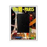 Foire De Paris Vintage Travel Poster Picture Frame