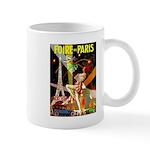 Foire De Paris Vintage Travel Poster Mugs
