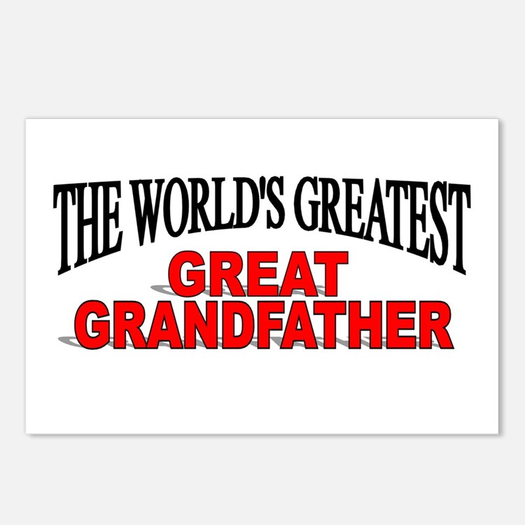 """The World's Greatest Great Grandfather"" Postcards"