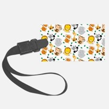 Baby Safari Animals Pattern Luggage Tag