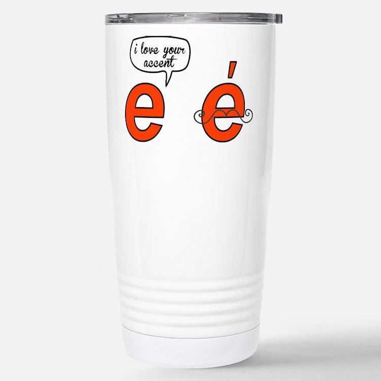 Cute Accent Travel Mug