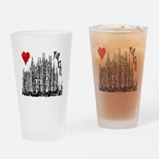 Cute Cathedral Drinking Glass
