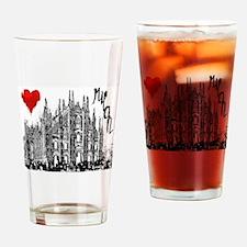 Unique I love Drinking Glass
