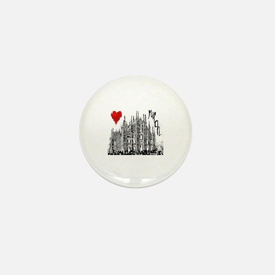 Unique Milan Mini Button