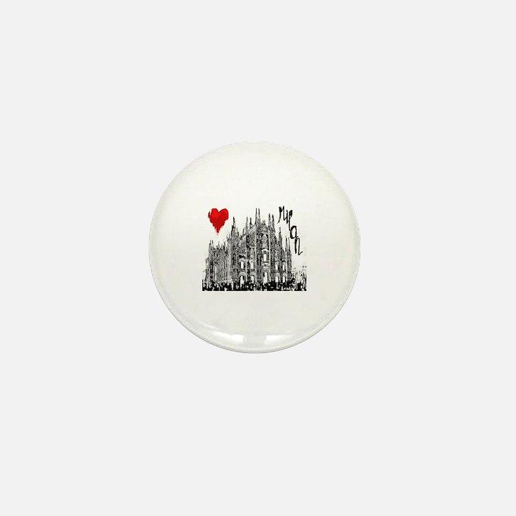 Cute Cathedral city Mini Button