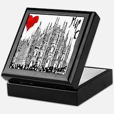 I love Milan Keepsake Box