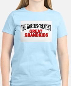 """The World's Greatest Great Grandkids"" T-Shirt"