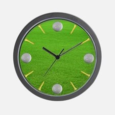 Cute Frisbee golf Wall Clock