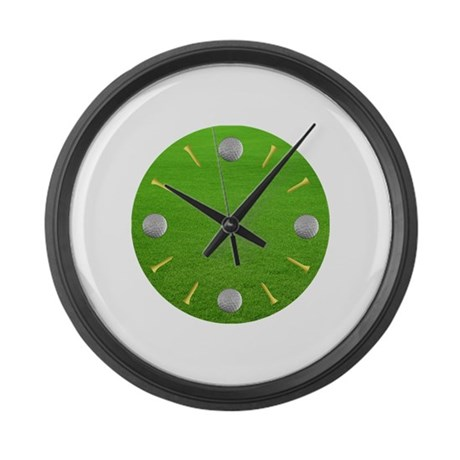 Cute Golf Large Wall Clock
