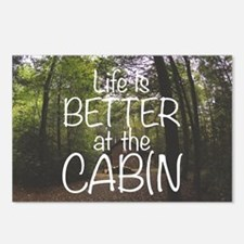 Cute Cabin Postcards (Package of 8)