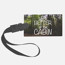 Cute Cabin Luggage Tag