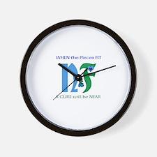 NF single design-white.JPG Wall Clock